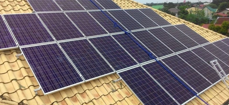 Expanding existing solar power system in Porac