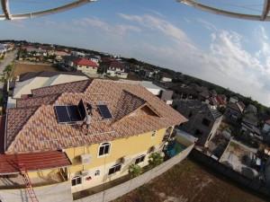 Philippine neighbors go solar