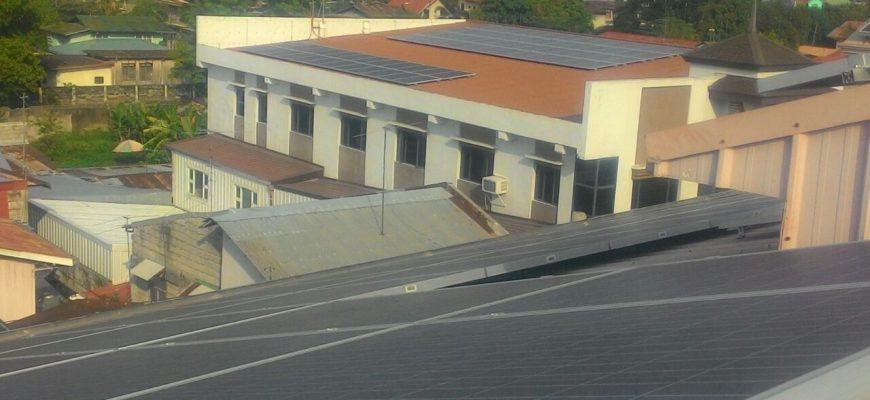 Solar energy for hospital